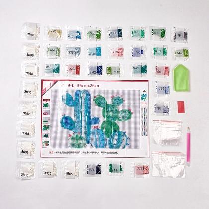 DIYフルラウンドダイヤモンド塗装DIY-WH0102-02-1