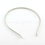 Железные ободки, аксессуары для волос, платина, 120~125 мм