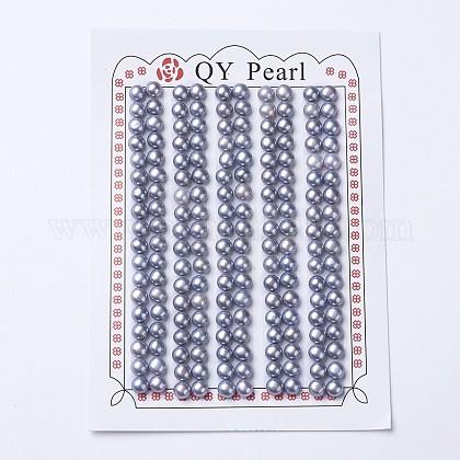 Perlas naturales abalorios de agua dulce cultivadasPEAR-I004I-01-1