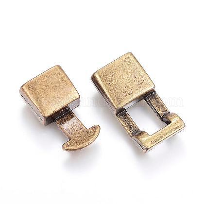 合金製スナップロッククラスプ留め金具PALLOY-P128-06-1