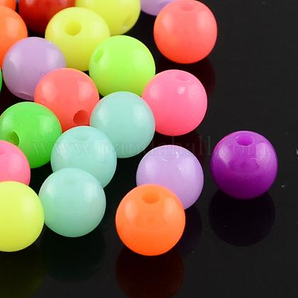 Perlas de acrílico fluorescentesMACR-R517-18mm-M-1
