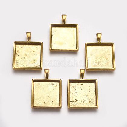 Tibetan Style Pendant Cabochon SettingsX-TIBEP-A123359-AG-FF-1