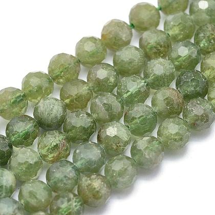 Natural Apatite Beads StrandsG-O171-04-6mm-1