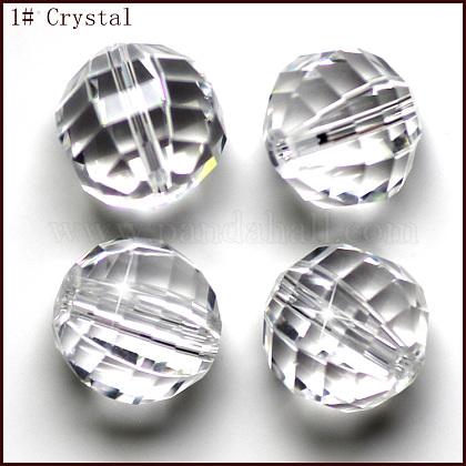 Abalorios de cristal austriaco de imitaciónSWAR-F079-10mm-01-1