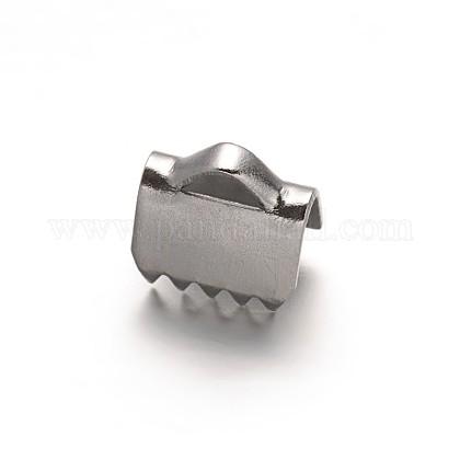 304ステンレス鋼リボンカシメエンドパーツSTAS-G130-11A-1
