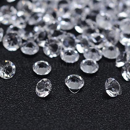 ダイヤモンドカット加工樹脂カボションX-CRES-M006-12B-1