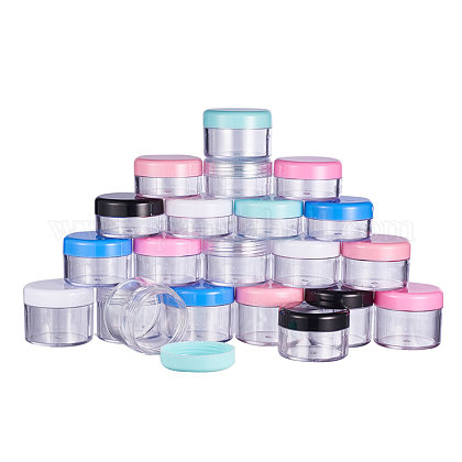 Elegant Plastic Cosmetic Facial Cream JarMRMJ-PH0001-08-1