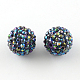AB-Color Resin Rhinestone Beads RESI-S315-28x30-03-1