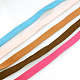 Flat Faux Suede Cord LW-141-20mm-M-2