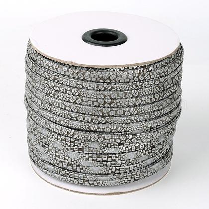 Flat Imitation Leather CordsX-LC-L003-11-1