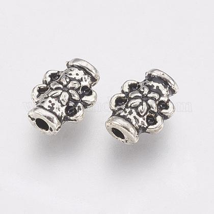 Supports en alliage de perle de strass de style tibétainTIBE-T011-164AS-FF-1