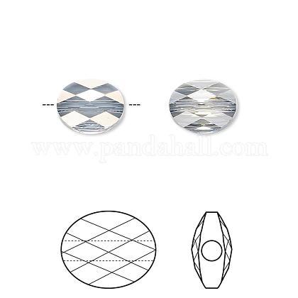 Austrian Crystal Beads5051-8x6-001BLSH(U)-1