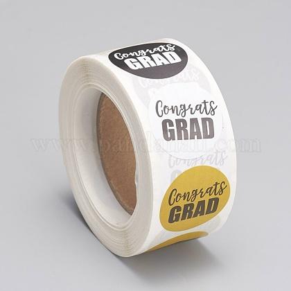Etiquetas autoadhesivas de etiquetas de regalo de papel kraftDIY-G013-A02-1