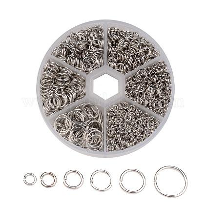 1600 pieza de anillos de salto de hierro pero sin soldarIFIN-MSMC010-04P-NF-1