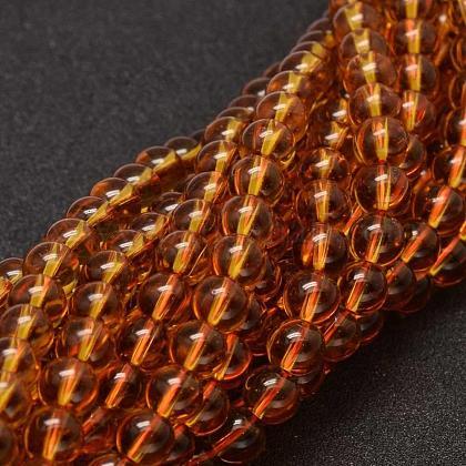 Round Glass Beads StrandsGLAA-I004-6mm-03-1