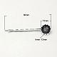 Iron Hair Bobby Pin FindingsIFIN-I013-S-1
