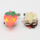 Kid's Strawberry Silicone Led Brooches JEWB-R006-12-3