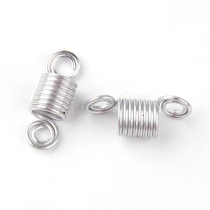 Puños de bobina de pelo de alambre de aluminioALUM-S012-01-1