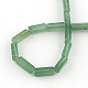 Vert aventurine pierres précieuses brins de perles naturelles cuboïdeG-R299-10-2