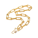 Iron Paperclip Chain NecklacesNJEW-JN02666-01-1