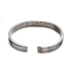 Fashionable Unisex 304 Stainless Steel BanglesBJEW-L552-02D-6mm-2
