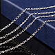 Brass Cable Chain Necklace MarkingSW028-S-6