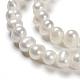 Grado de perlas de agua dulce cultivadas naturalesPEAR-D039-1-3