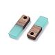Colgantes de resina y madera de nogal de 8 coloresRESI-X0001-27-2