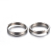 304 Stainless Steel Split Rings STAS-P223-22P-07-2