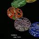 Handmade Lampwork Beads StrandsLAMP-G057-4-1