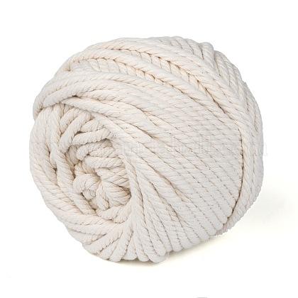 Hilos de hilo de algodón para hacer joyasOCOR-WH0018-B01-6mm-1