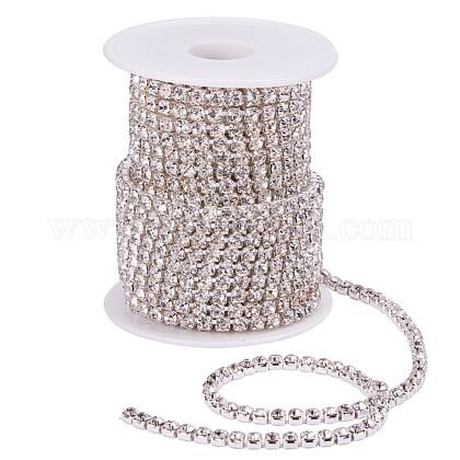 Cadenas de strass Diamante de imitación de bronceCHC-T001-SS18-01S-1