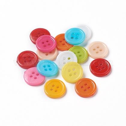 Botones de costura de acrílicoBUTT-E076-E-M-1