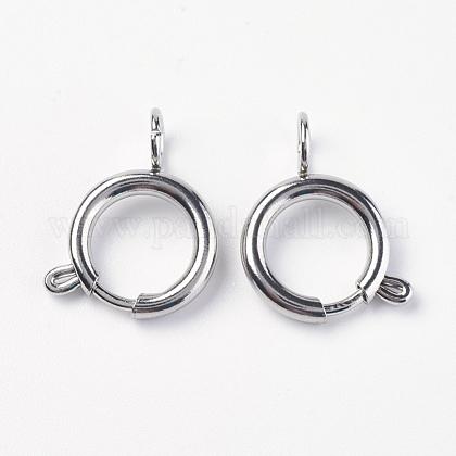 304 пружинное кольцо с гладкой поверхностью из нержавеющей сталиSTAS-E143-03B-P-1