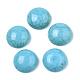 Cabuchones de turquesa sintéticaTURQ-S291-03D-01-2
