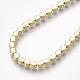 Adjustable Brass Cubic Zirconia Slider BraceletsBJEW-S141-02-4