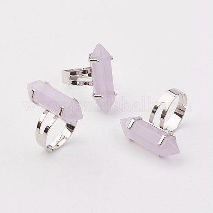 Bala anillos de cristalRJEW-P120-B07-1
