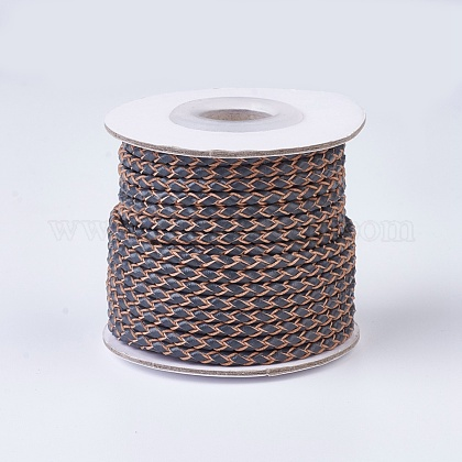 Braided Leather CordsWL-P002-08-A-1