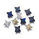 Perlas de resina de piedras preciosas druzy imitaciónX-RESI-L026-H-1