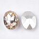 Pointed Back Resin Rhinestone Cabochons CRES-S379-8x10mm-B15-2