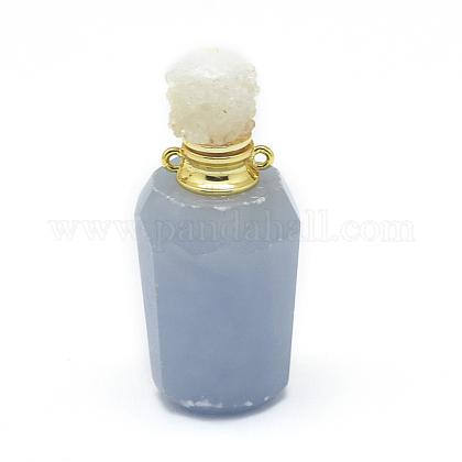 ナチュラルアンジェライトオープン香水ボトルペンダントG-E556-03A-1