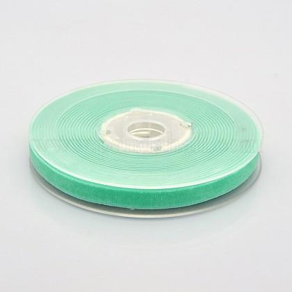 Ruban de velours en polyester pour emballage de cadeaux et décoration de festivalSRIB-M001-10mm-323-1