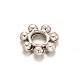 Flower Tibetan Style Alloy Spacer Beads X-TIBEB-ZN-26197-AS-RS-1