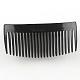 Accesorios para el cabello fornituras del peine del pelo de plásticoOHAR-S185-03-2