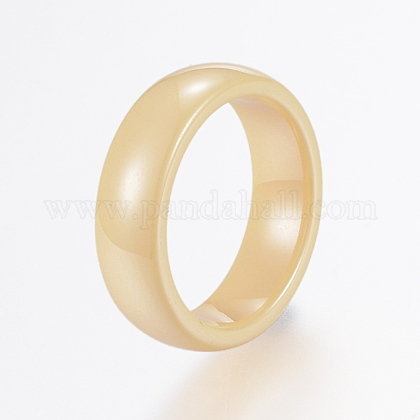 Handmade Porcelain Wide Band Rings RJEW-H121-21D-17mm-1