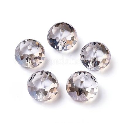 Abalorios de vidrio electrochapadoEGLA-E005-10-1