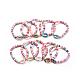 Stretch Bracelets SetsBJEW-JB04473-1