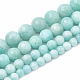 Natural Amazonite Beads Strands G-S333-8mm-005-2