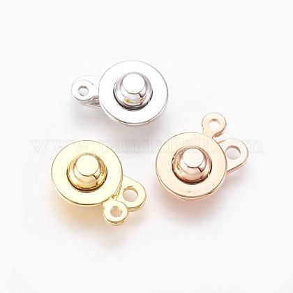 Brass Snap ClaspsKK-P164-21-1