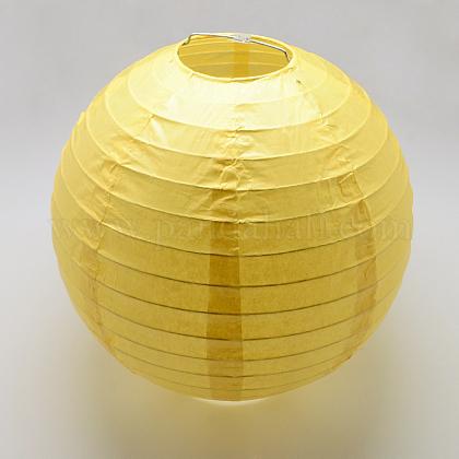 Accessoires de décoration lanterne en papierAJEW-Q103-03A-01-1